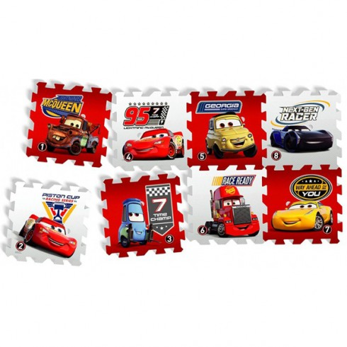 Covoras de joaca Knorrtoys Cars 3 Race of a Lifetime puzzle