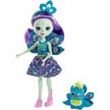 Papusa Enchantimals by Mattel Patter Peacock cu figurina {WWWWWproduct_manufacturerWWWWW}ZZZZZ]