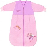 Sac de dormit Slumbersac Pink Fairy 6-18 luni 2.5 Tog maneca lunga