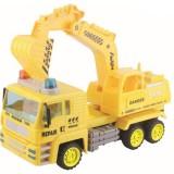 Masinuta Baby Mix Camion cu excavator rotativ Super Power