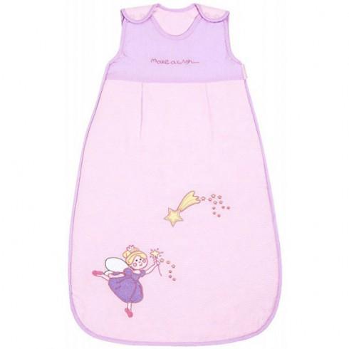 Sac de dormit Slumbersac Pink Fairy 6-18 luni 2.5 Tog