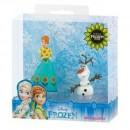 Set figurine Bullyland Frozen Fever Anna+Olaf