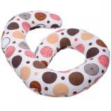 Perna de alaptat BabyNeeds Enjoy multifunctionala Buline colorate