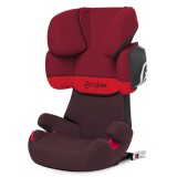 Scaun auto Cybex Solution X2 Fix rumba red dark red cu Isofix