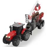 Tractor Dickie Toys Massey Ferguson MF 8737 cu remorca 42 cm {WWWWWproduct_manufacturerWWWWW}ZZZZZ]