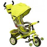 Tricicleta cu copertina Baby Mix Sunny Steps green